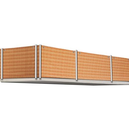 Sichtschutz für Balkon in Schilfoptik 5m