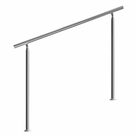 Treppengeländer Edelstahl 150cm