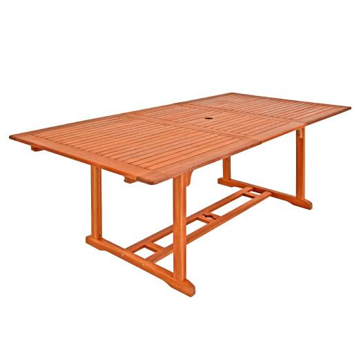 Gartentisch Unikko 200cm FSC®-zertifiziertes Eukalyptusholz