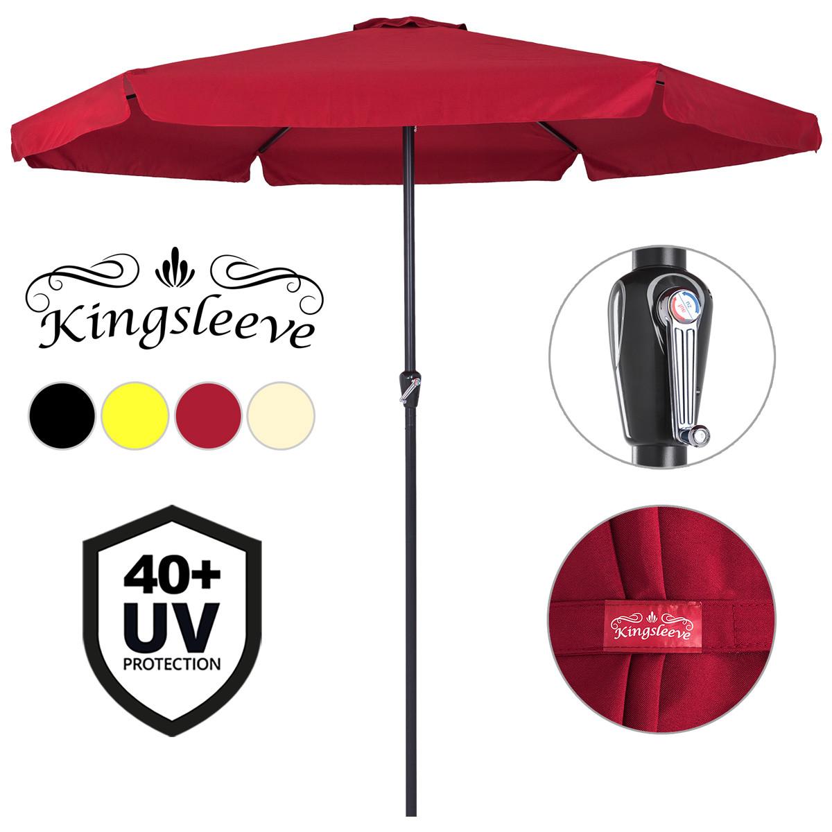 Sonnenschirm Ø330cm UV-Schutz 40+ günstig online kaufen