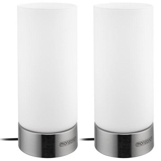 Tischlampe Lumo 2er-Set Weiß