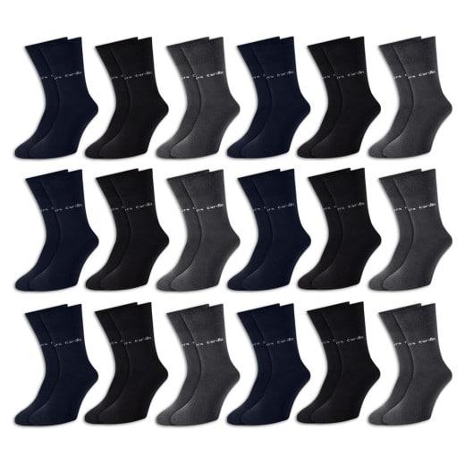 Pierre Cardin Socken 18er-Pack Farbmix Gr. 39-42