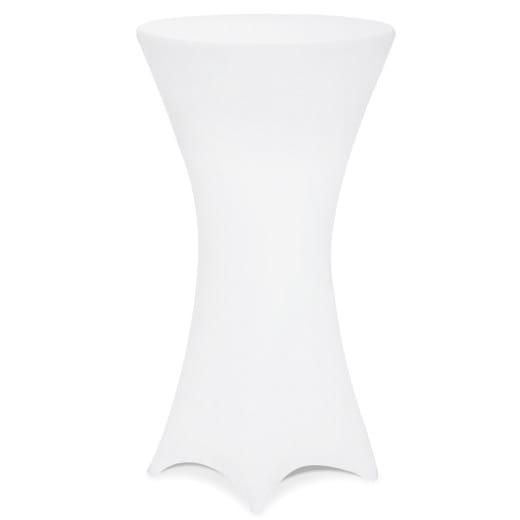 5x Stehtischhusse in weiß