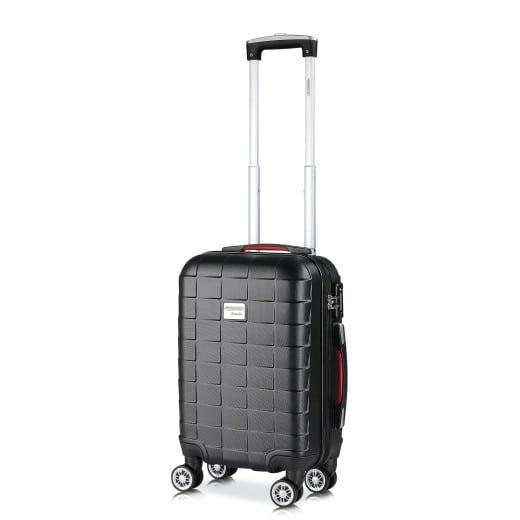 Koffer Hartschale Exopack Schwarz M aus ABS 40l 61x31x21cm