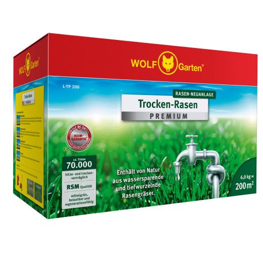 Premium-Rasen Trockenrasen L-TP200 200m²