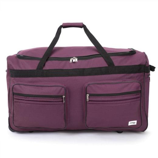 Rollenreisetasche XXL Violett 160L