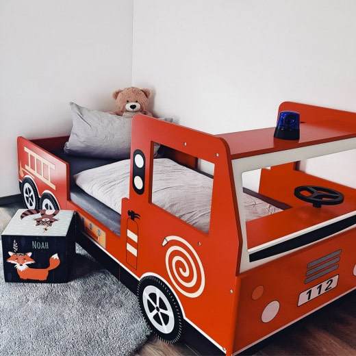 Kinder Feuerwehrbett Noah 200x90 cm