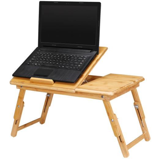 Laptoptisch aus Bambus klappbar