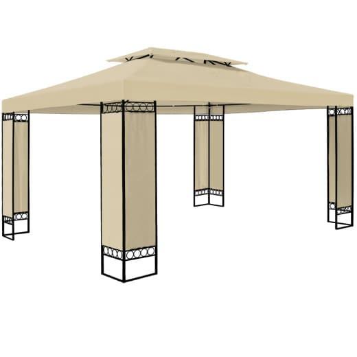 Pavillon Elda in Creme XXL 3x4m