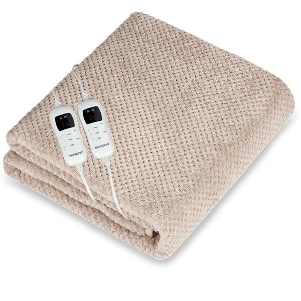Wärmeunterbett 3-lagige Komfort 7 Heizstufen Abschaltfunktion Double