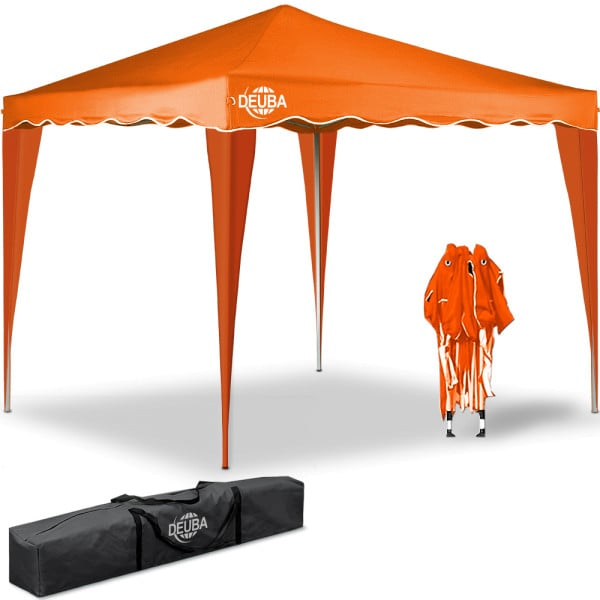 Faltpavillon Capri - Popup 3x3m in orange