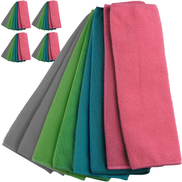 Microfibre Cleaning Cloth - Set of 40