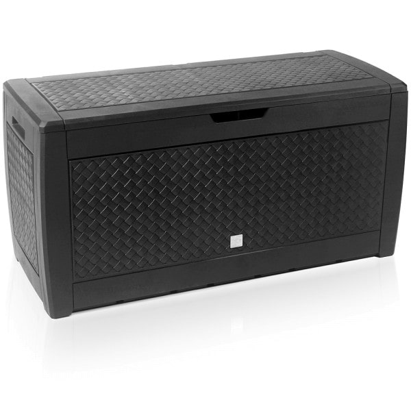 Auflagenbox Anthrazit 119x48x60 cm