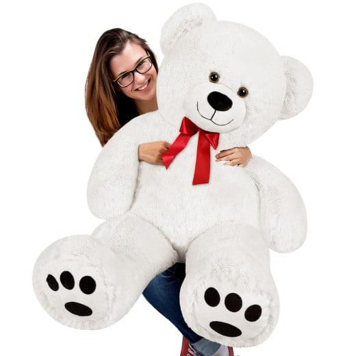 Plüschtier Teddybär XL weiss