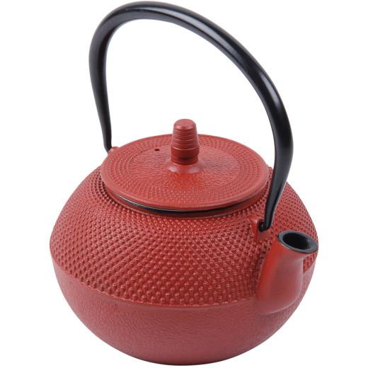Teekessel Gusseisen - 1250 ml - Rot
