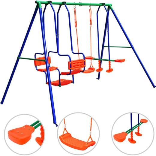 Kinderschaukel mit Korb - Set