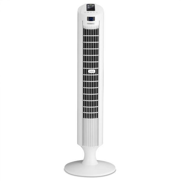 Turmventilator Weiß 84cm inkl. Fernbedienung