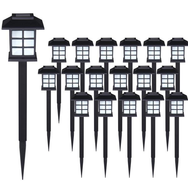 18x Solarleuchten LED-Licht-Set