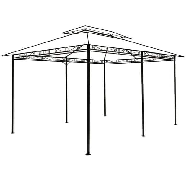 Stahlgestänge Pavillon Topas 3x4m