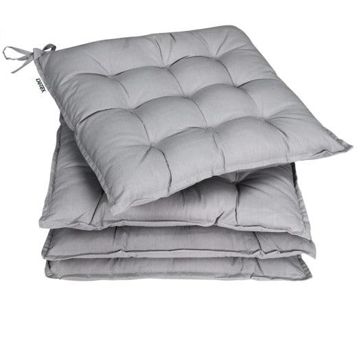 Sitzkissen 4er-Set Cozy Grau