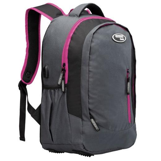 Rucksack 34l 48 x 33 x 22cm grau/pink