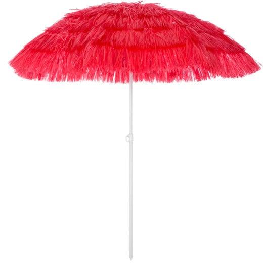 Sonnenschirm Hawaii Rot Ø160cm