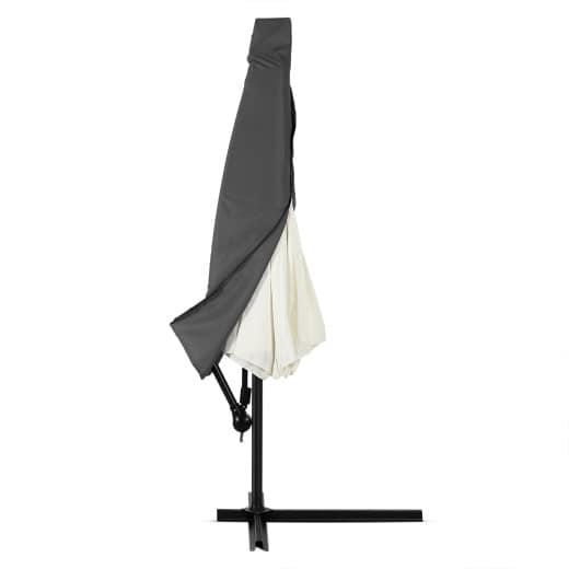 Abdeckung 3 m Ampelschirm mit Reißverschluss, anthrazit
