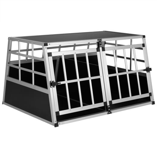 Hundetransportbox XL 98x70x51cm Alu