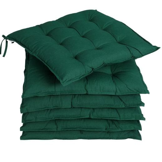 Sitzkissen 6er-Set Cozy Grün