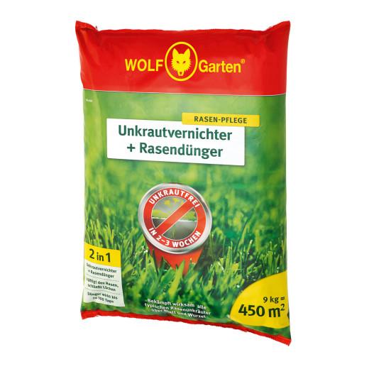 Unkrautvernichter + Rasendünger 2in1 SQ450 450m²