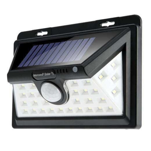 Solar Wandleuchte mit Bewegungsmelder 34 LEDs