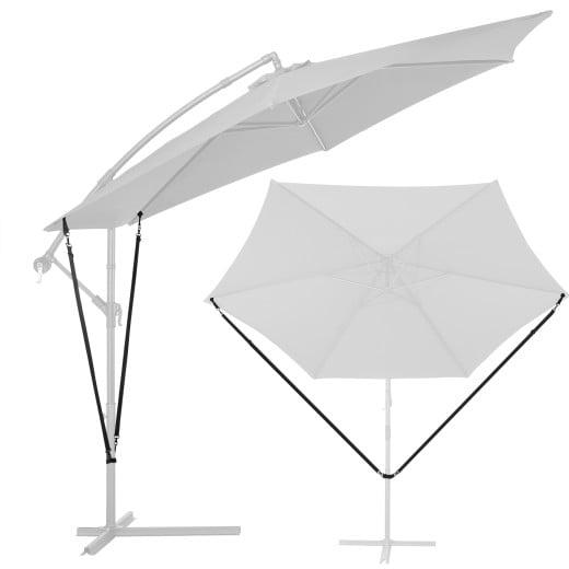 Windsicherung Ampelschirm mit Metallhaken