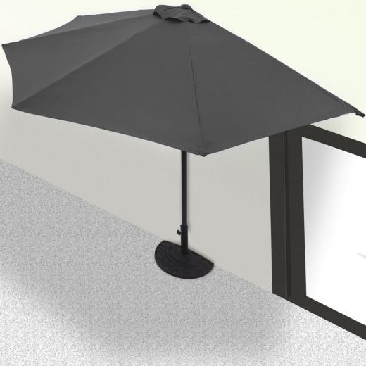 Terrassen-Sonnenschirm Anthrazit UV-Schutz 50+
