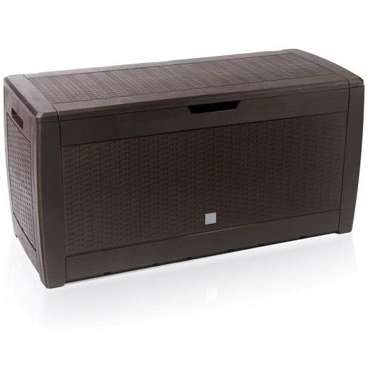 Auflagenbox Rato Braun 119x48x60cm