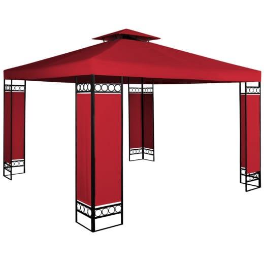 Pavillon Lorca Rot 3x3 m