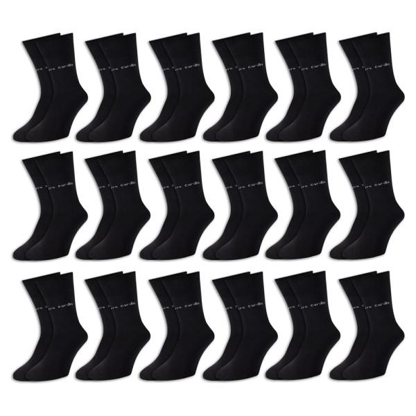 Pierre Cardin Socken 18er-Pack Schwarz Gr. 43-46