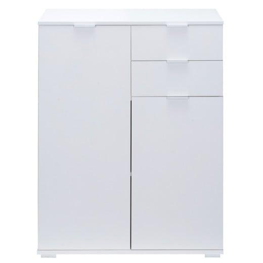 Highboard »Alba« weiß mit 2 Türen und Schubladen
