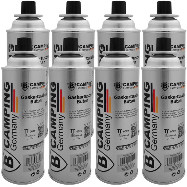 Butane Gas Canister - Set of 8