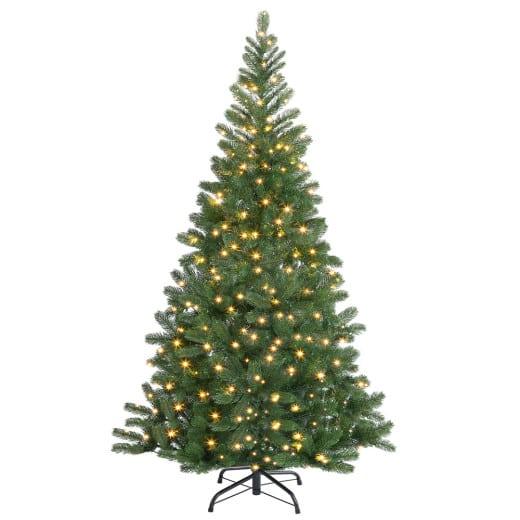 Künstlicher Weihnachtsbaum 150cm mit Lichterkette