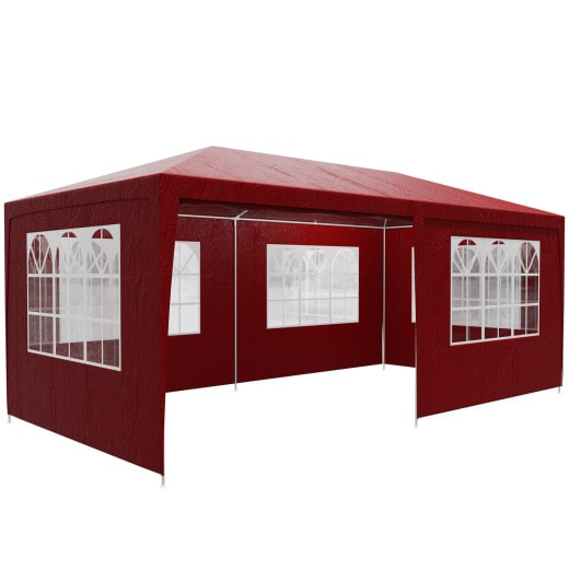 Festzelt Rimini Rot 3x6m UV-Schutz 50+