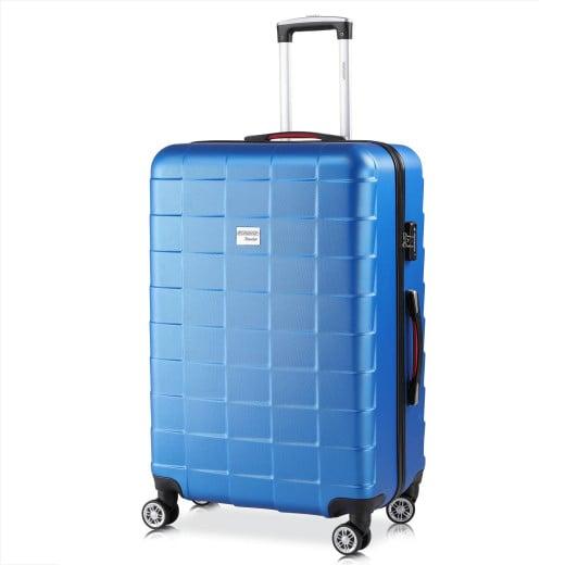 Koffer Hartschale Exopack Blau XL aus ABS 116l 76x51x30cm