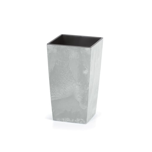 Plant Pot Concrete Design 26L Grey