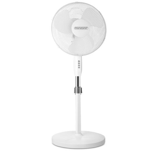Standventilator Weiß Ø43cm 54dB
