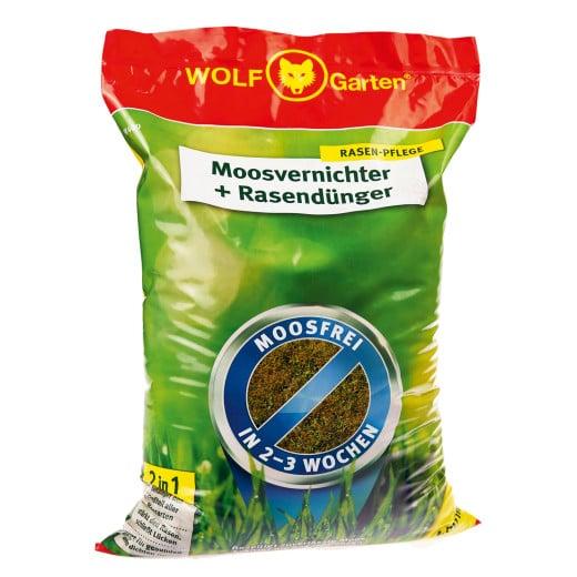 Moosvernichter + Rasendünger 2in1 400m²