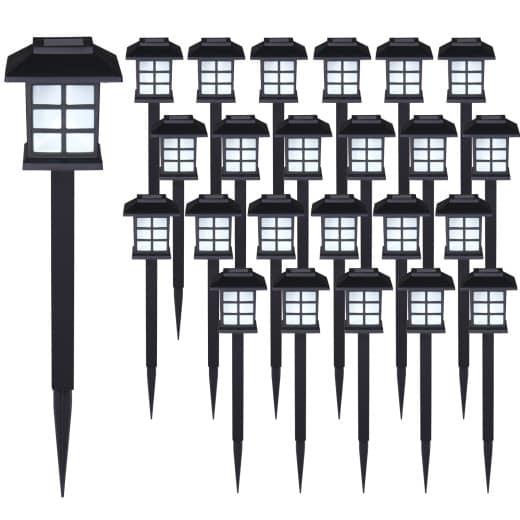24 x LED Solarleuchten