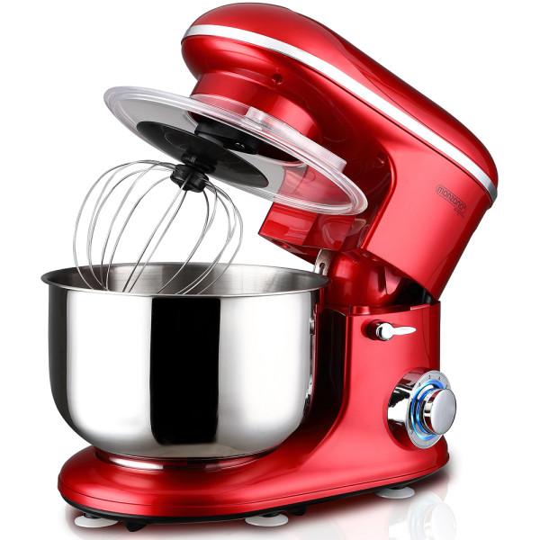 Küchenmaschine Elegance Rot 1200W 6L