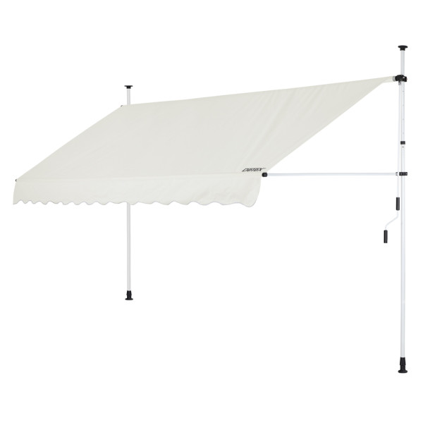 Clamp Awning Beige 11.5ft