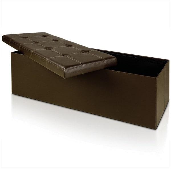 Sitzbank in Braun 114 cm x 40 cm x 40 cm