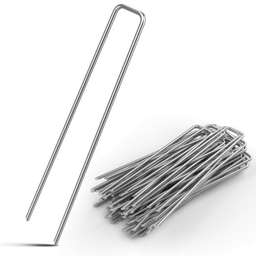 Heringe 100er-Set Stahl Ø3 mm verzinkt