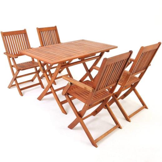 Sitzgruppe Sydney 5-tlg. Akazienholz FSC® zertifiziert